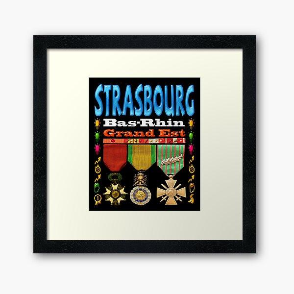 Strasbourg Bas-Rhin Grand Est Impression encadrée