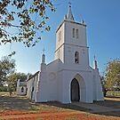 Beagle Bay Catholic church,  Western Australia by Margaret  Hyde