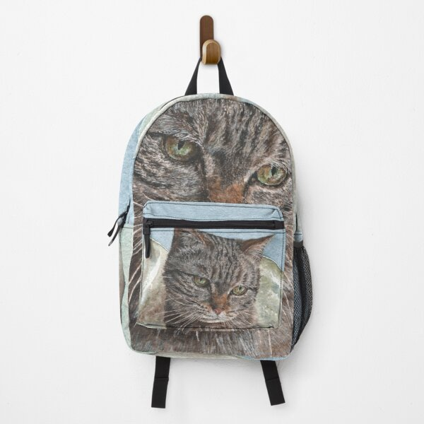 Toast the Tabby Cat Backpack