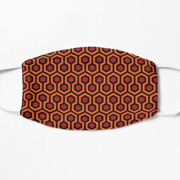 Hi Res - Le motif brillant des moquettes de la chambre d'hôtel 237 Masque sans plis