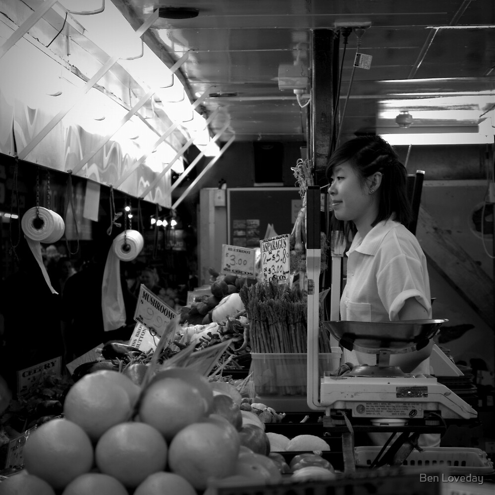 The Greengrocer by Ben Loveday