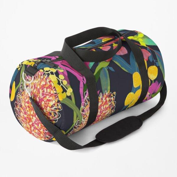 Australian Wild Flowers Duffle Bag