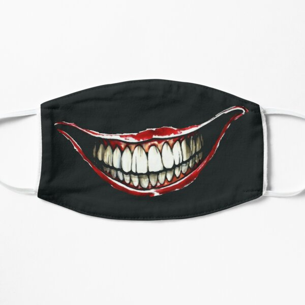 Masque visage sourire Masque sans plis