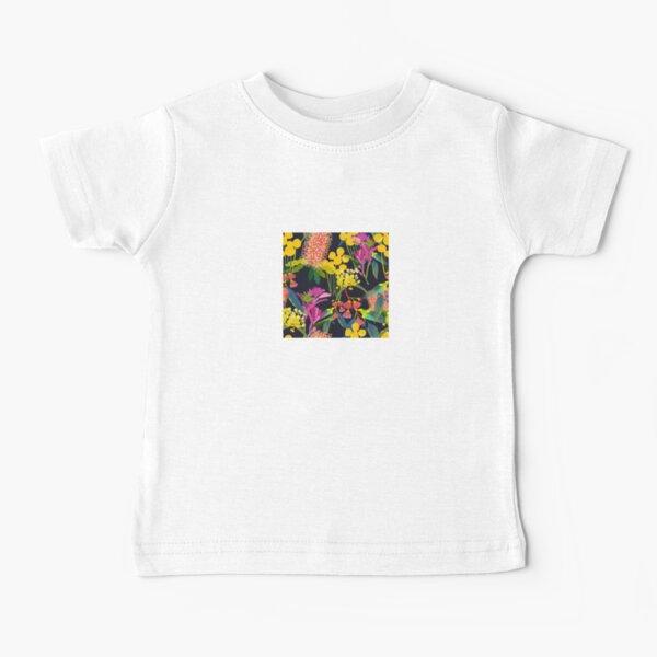 Australische Wildblumen Baby T-Shirt