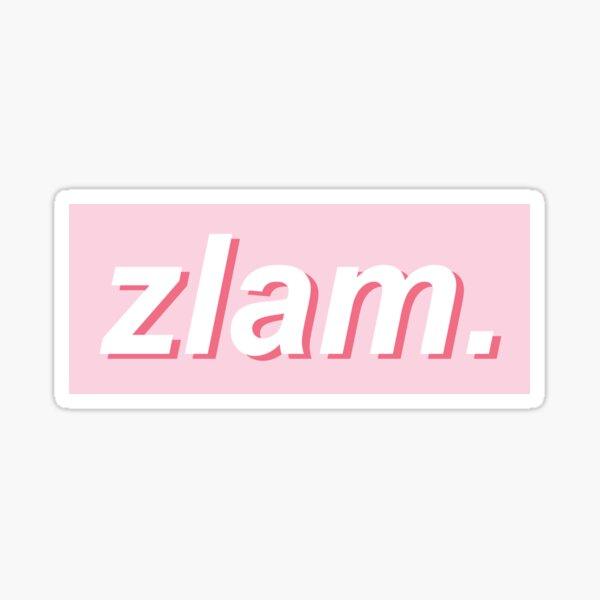 ZLAM. Sticker