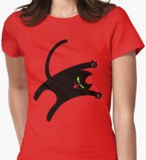 NINJA CAT 1 Women's Fitted T-Shirt