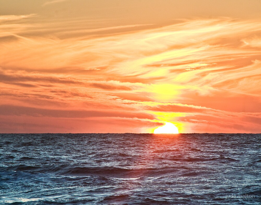 Gulf Sun by jude walton