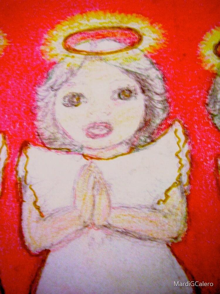 Little Xmas Angel [coll;] by MardiGCalero