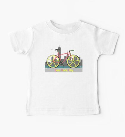 Love New York, Love to Cycle Kids Clothes