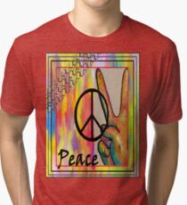 Peace in Every Color Tri-blend T-Shirt