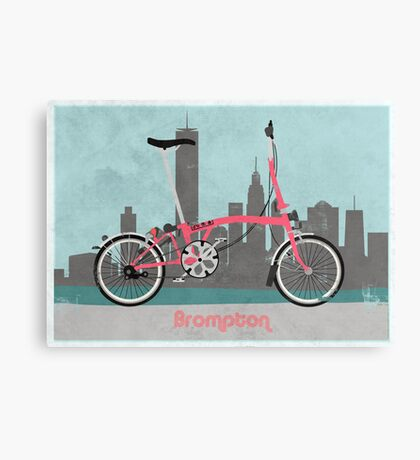Brompton City Bike Canvas Print