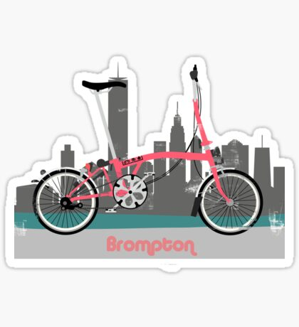 Brompton City Bike Sticker
