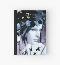 Blue Autumn  Hardcover Journal