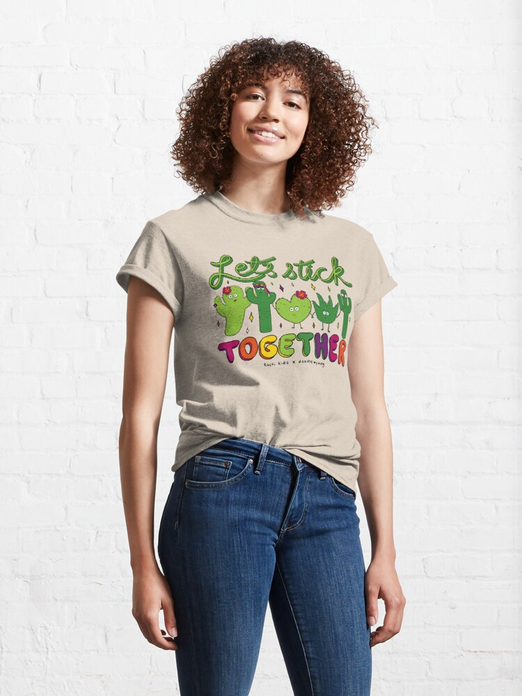 Alternate view of Let's Stick Together Classic T-Shirt