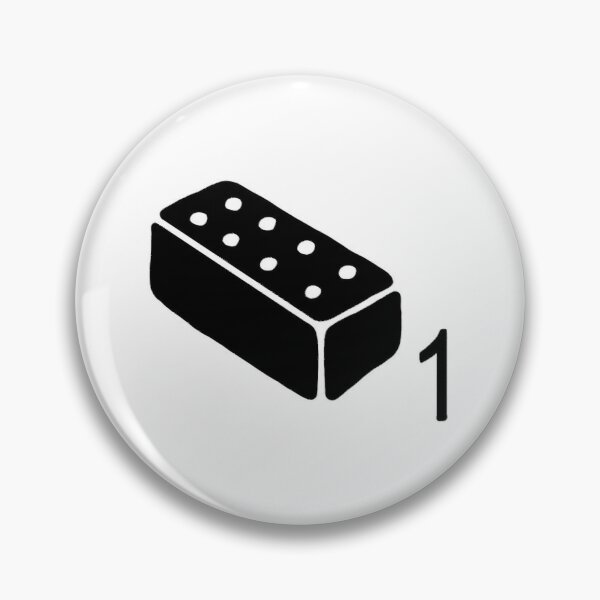 the last of us brick Pin