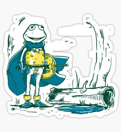 Kaeru the frog Sticker