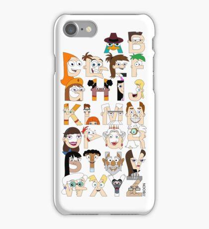P&F Alphabet iPhone Case/Skin