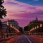 Spain. Madrid. Sunrise. by vadim19