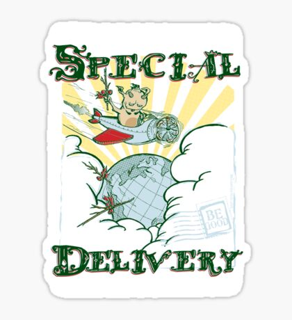 Krampus - Special Delivery Sticker