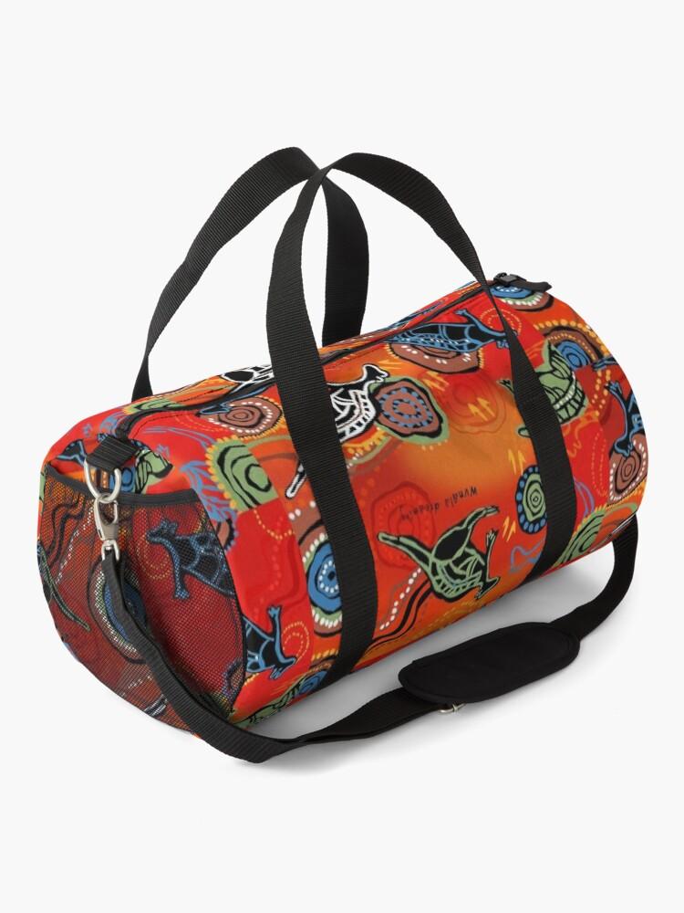 Alternate view of QANTAS DREAMING Duffle Bag