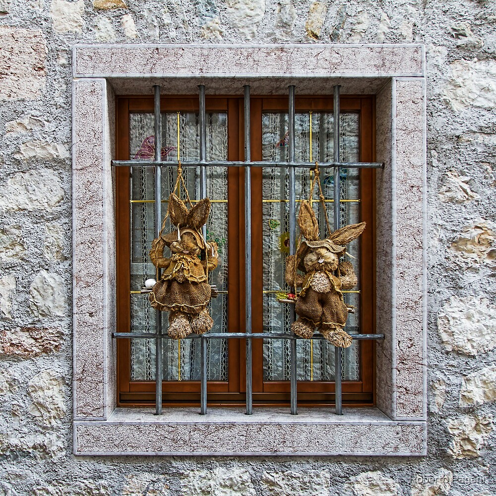 Hung rabbit ragdolls by Roberto Pagani