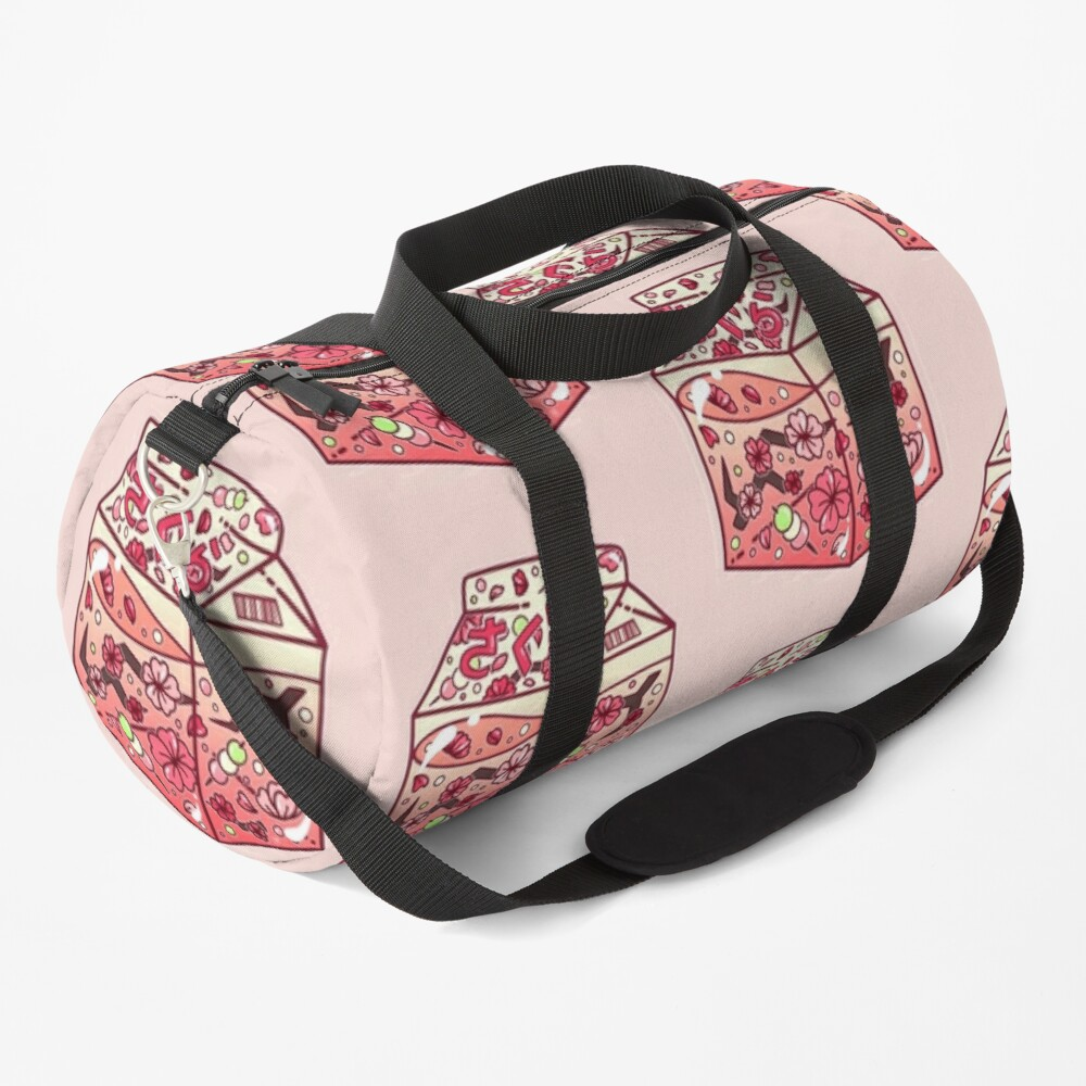 Glass Sakura Carton Duffle Bag