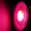 Beauty in Pink - multicolor lamp by bubblehex08
