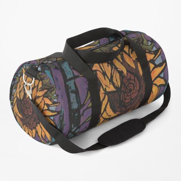 Batik Sunflower (Original Version) Duffle Bag
