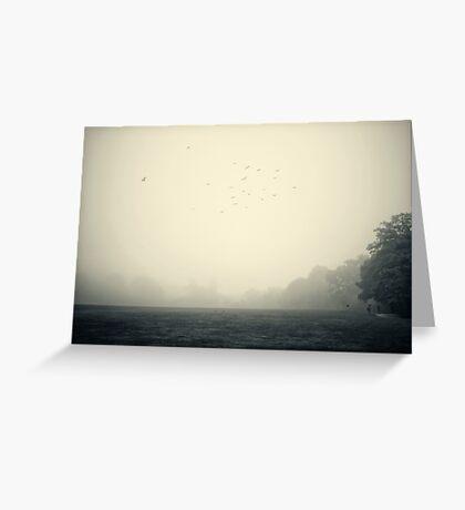 Misty morning 2 Greeting Card