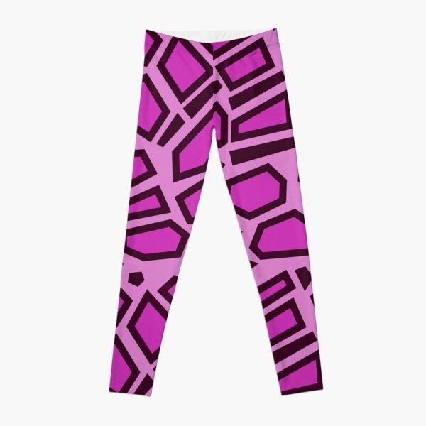 Kipo Pink Mega Jaguar Spots Leggings