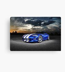 Dodge Viper GTS Canvas Print