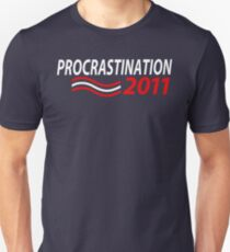 Vote Procrastination T-Shirt