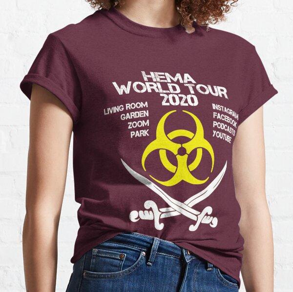 HEMA 2020 World Tour Pandemic - Yellow Classic T-Shirt