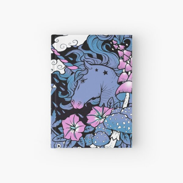 - Magical Unicorn - Hardcover Journal