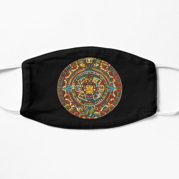 ANCIENT AZTEC FACE MASK COVERING AND SHIRT  Mask