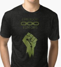 BioShock - A man Chooses Tri-blend T-Shirt