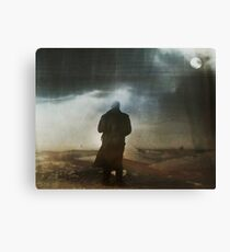 Icy night Canvas Print