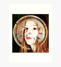 TimeTravel Art Print