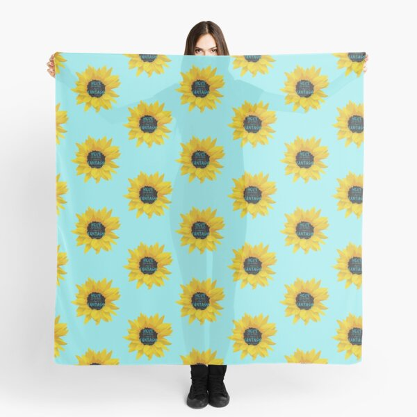 Hope Can Be More Than a Fantasy Sunflower Scarf