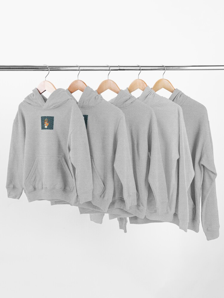 Alternate view of The Mid-Century Palm Reader Kids Pullover Hoodie
