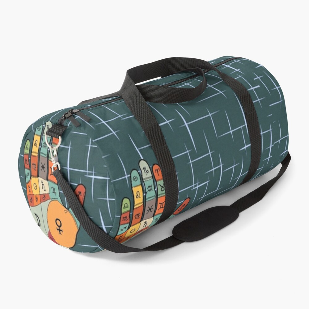 The Mid-Century Palm Reader Duffle Bag