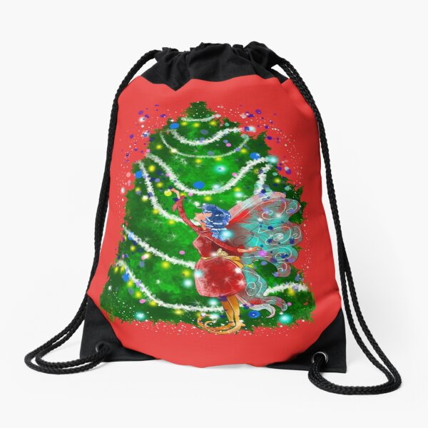 Christalle Shimmershine The Handmade Christmas Items Fairy™ Drawstring Bag