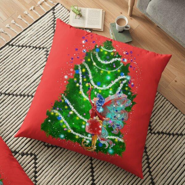 Christalle Shimmershine The Handmade Christmas Items Fairy™ Floor Pillow