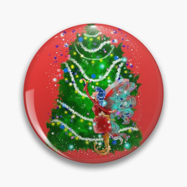 Christalle Shimmershine The Handmade Christmas Items Fairy™ Pin