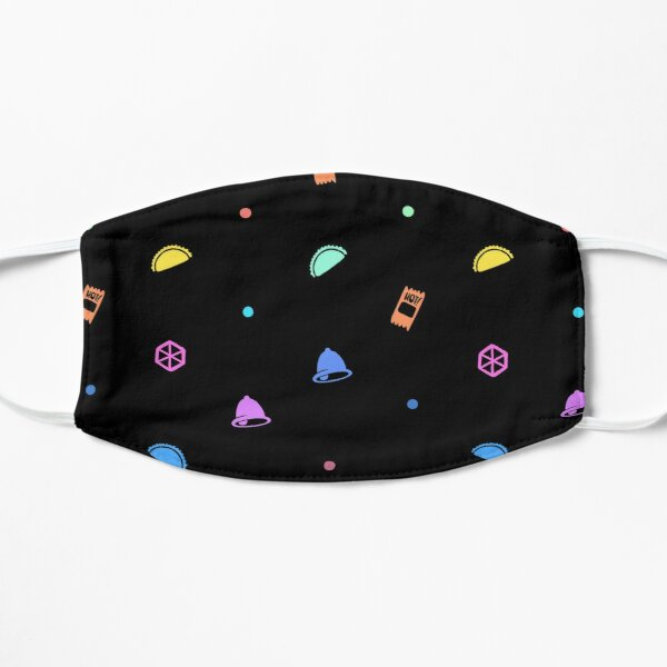 Taco Bell party design  Flat Mask
