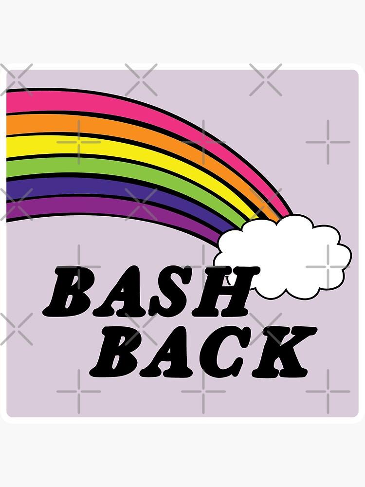 queers bash back | rainbow lgbtqia+ by craftordiy