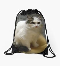 My Sweet Little Boo (Norweigan Forest Cat) Drawstring Bag