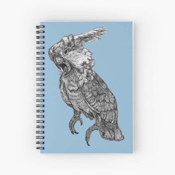 Sassy the Cockatoo Spiral Notebook