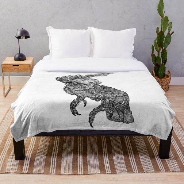 Sassy the Cockatoo Throw Blanket