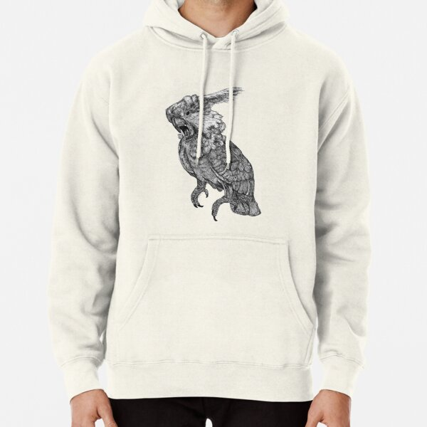 Sassy the Cockatoo Pullover Hoodie